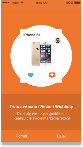 iWisher - mobile app