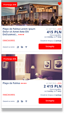 hotele.itaka.pl - travel deals website